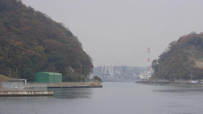 吾妻島の運河です。