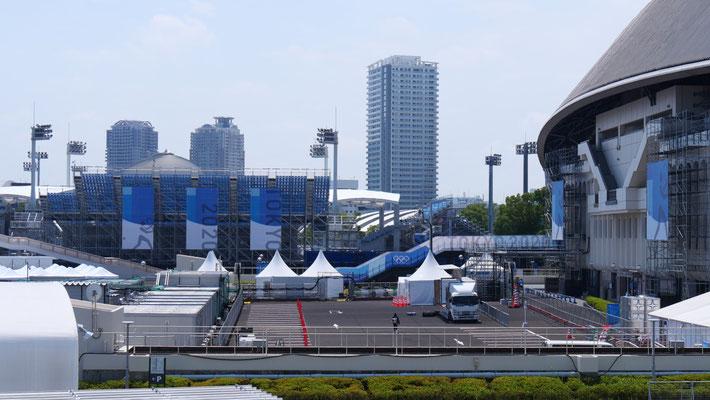 有明テニスの森も、TOKYO2020にあわせてリノベーションされました。