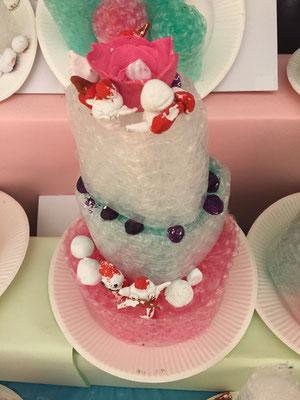 エアセル製のクリスマスケーキです。