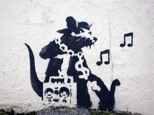 blek le rat street art hip hop