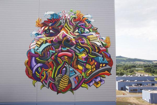 shaka street art monde coloré