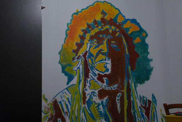 fresque street art amerindien indian chief slave 2.0 3