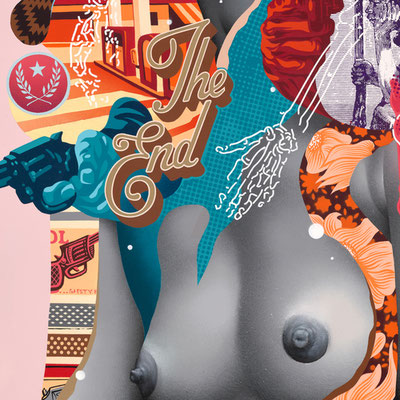 Tristan eaton kiss my assassin street art