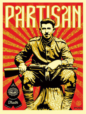 partisan original shepard fairey street art