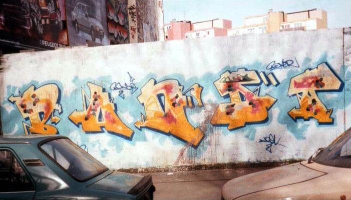 Bando lettrage graff tag