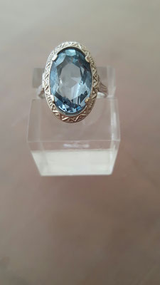 Blau Topas Ring 6