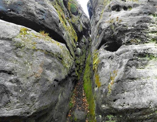 Ehemalige Stiege, Kletterstelle Nr. 2