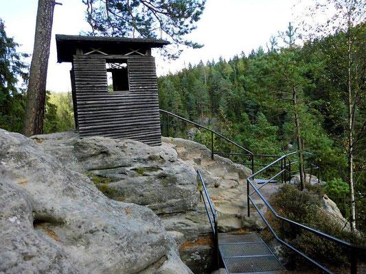 Aussicht an der Schlegelhütte