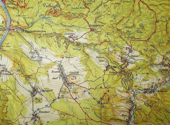 Meinhold-Karte 1940