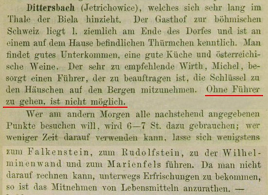 Gottschalcks Sächsisch-Böhmische Schweiz, 1874,  S. 90