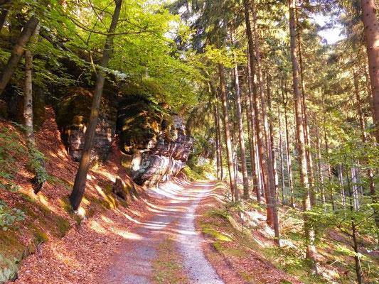 Weg zur Balzhütte