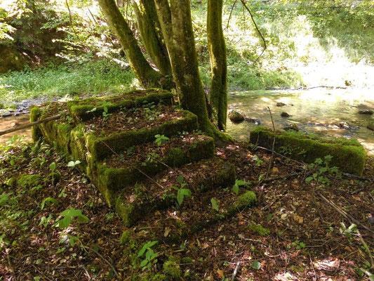 Reste der ehemaligen Böhmischen Mühle