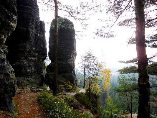 Klettergipfel Leuchtturm