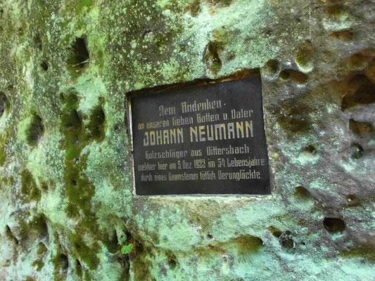 Johannstein Denkmal