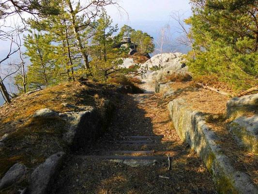 Treppe aufs Prebischtor
