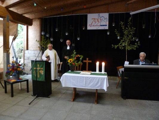 Oekumenischer Festgottesdienst am Sonntag