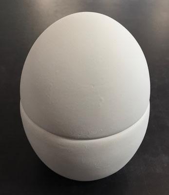EIDOKL - Dose in Eiform klein, Durchmesser 8 cm, Höhe 10 cm - 16,90 Euro
