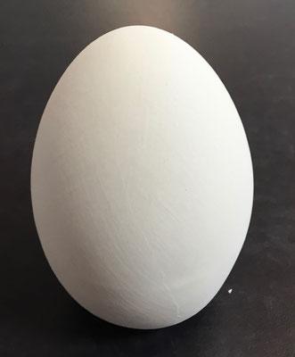 EIGR - Ei stehend groß, Durchmesser 8 cm, Höhe 9 cm - 11,90 Euro
