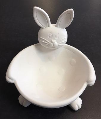BUNN - Hasenschale Bunny, Durchmesser 14 cm, Schale Höhe 6 cm, Ohren Höhe 13 cm - 19,90 Euro