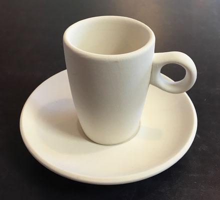ESPSE - Espressotasse mit Untertasse, Tasse Höhe 7 cm - 18,90 Euro