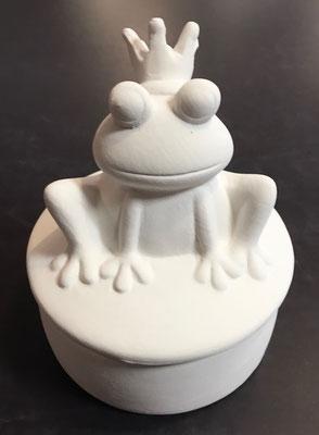 FRDO - Dose Froschkönig, Durchmesser 10 cm, Höhe 13 cm - 22,90 Euro