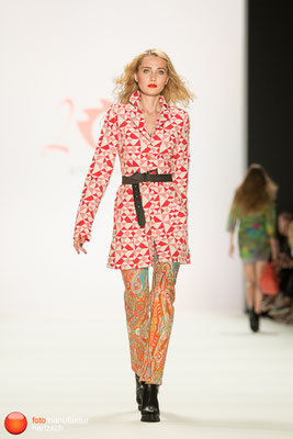 Mercedes Benz Fashionweek - Runway Shows - Anja Gockel