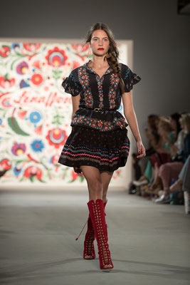 Mercedes-Benz Fashion Week Berlin - Runway Shows - Lena Hoschek