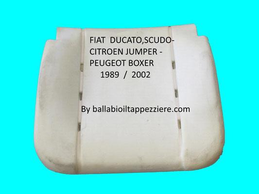 imbottitura sedile fiat ducato-fiat scudo-citroen jamper-peugeot boxer-alfa romeo By ballabioiltappezziere.com