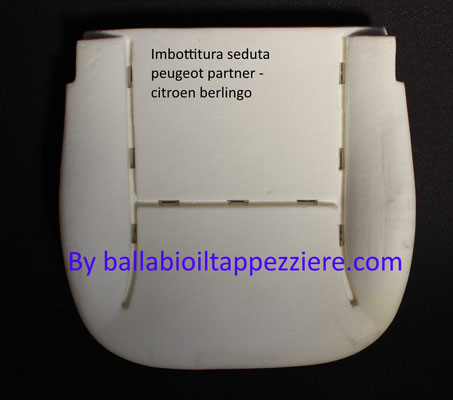 imbottitura seduta citoen berlingo-peugeot partner, By ballabioiltappezziere.com