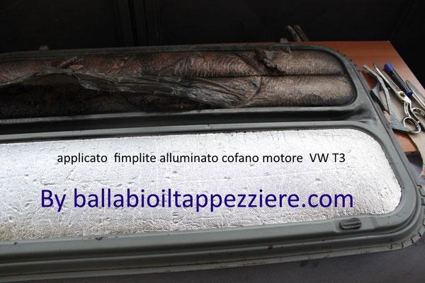 Applicazione Fimplite Alluminato  cofano VW T3  By ballabioiltappezziere.com