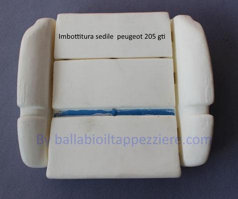 Imbottitura sedile  PEUGEOT 205 gti By ballabioiltappezziere.com