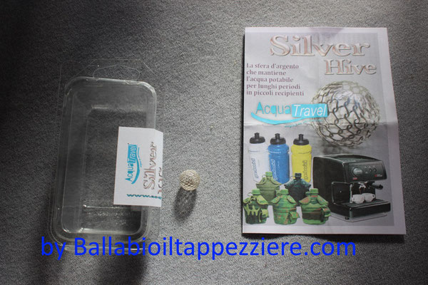 sfera argento  acquatravel By ballabioiltappezziere.com