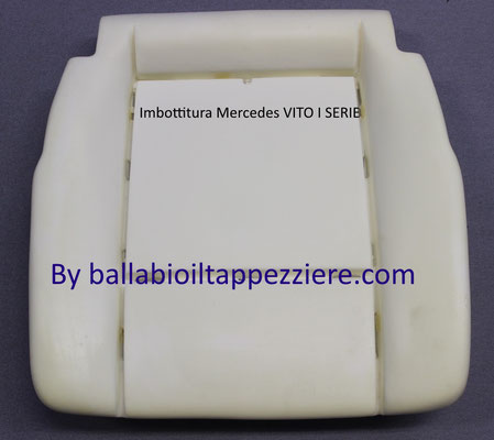 Imbottitura seduta Mercedes Vito  By ballabioiltappezziere.com