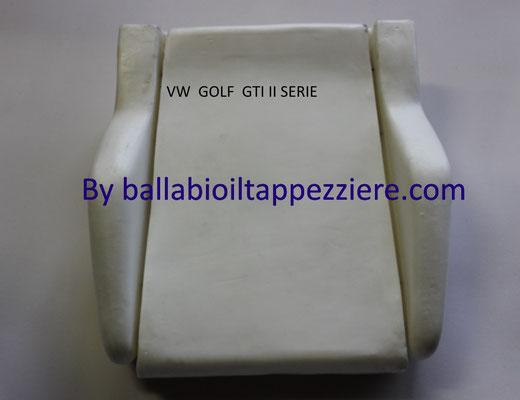 imbottitura GOLF GTI  II SERIE  By ballabioiltappezziere.com
