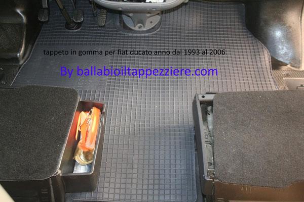 Tappeto cabina ducato -camper-furgone-ambulanza anno 1993/2006 By ballabioiltappezziere.co