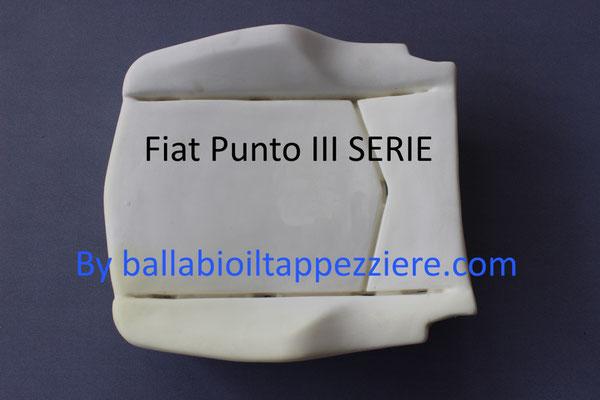 Imbottitura seduta fiat PUNTO II Serie e restilyng dal 1999 al 2010.Ballabioiltappezziere.com