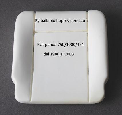 imbottitura seduta fiat panda 750/1000/4x4.Ballabioiltappezziere.com