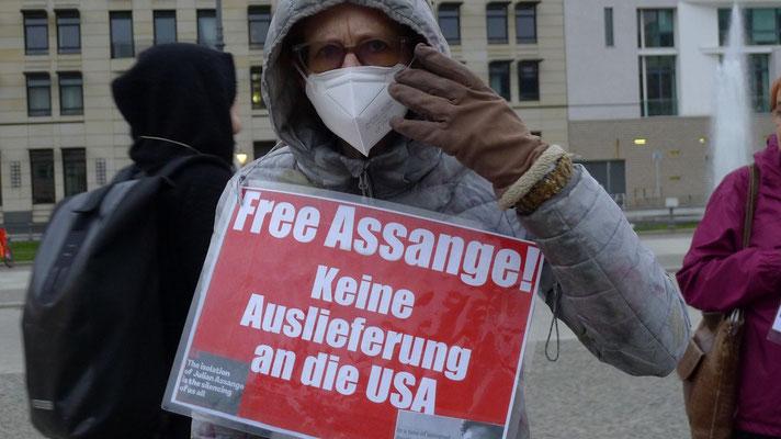 01.04.2021 - Free Assange Berlin