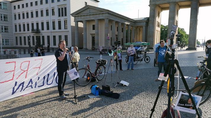 03.06.2021 - Free Assange Berlin