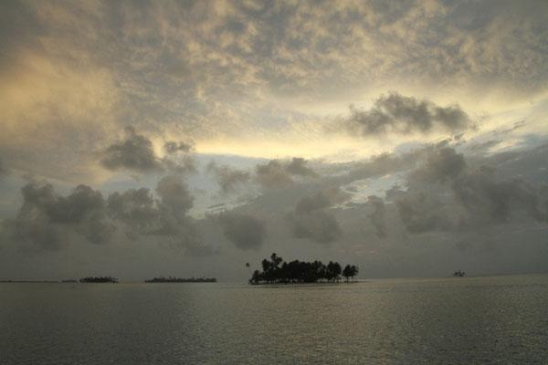 Sonnenuntergang Karibik San Blas Segeln