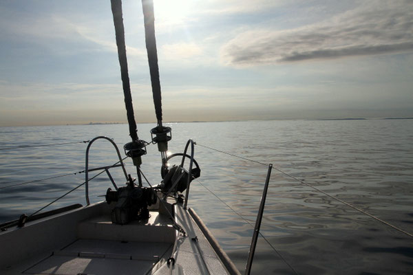 Segeln auf dem Weg nach Kolumbien