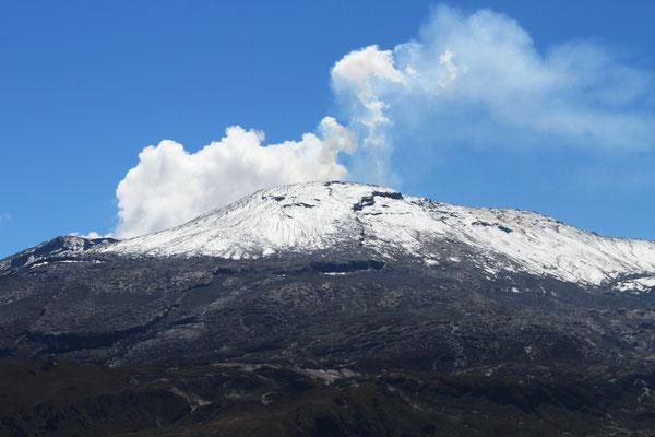 Nevado de Ruiz Vulkan Kolumbien Reisen