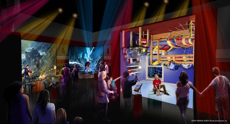 Disney's Hotel New York - The Art of Marvel Super Hero Station