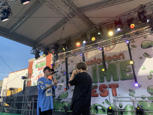 Nickelodeon Slimefest 2019 Bars and Melody