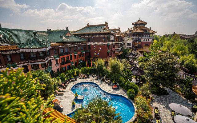 phantasialand kurzurlaub hotel ling bao