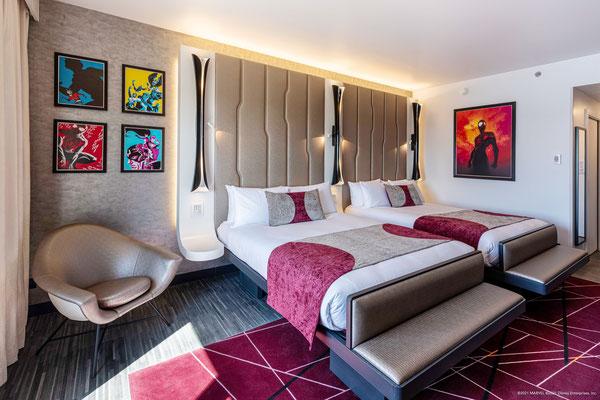 Disney's Hotel New York - The Art of Marvel Executive Room