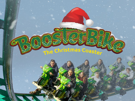 boosterbike christmas coaster toverland