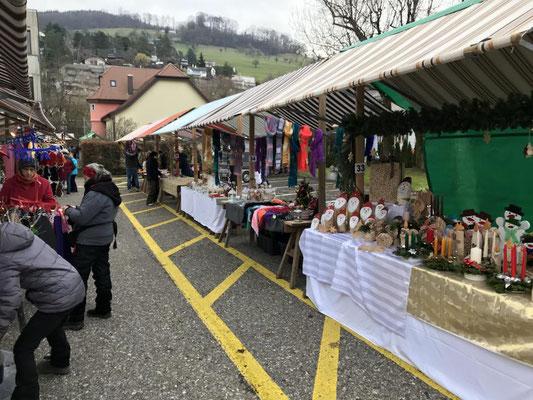 Christmas market in Füllinsdorf