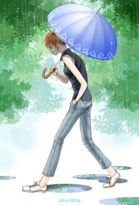 雨(挿絵)