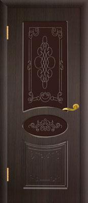 """20. Межкомнатная дверь """"Виктория"""" (со стеклом). ЦЕНА: 8265 рублей."""